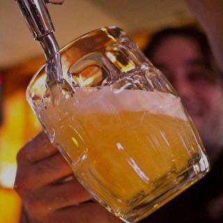 Tapley's Neighbourhood Pub Big Glass of Beer
