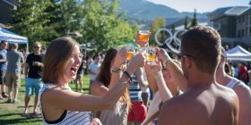 Cheers to surviving the Whistler Village Beer Festival!