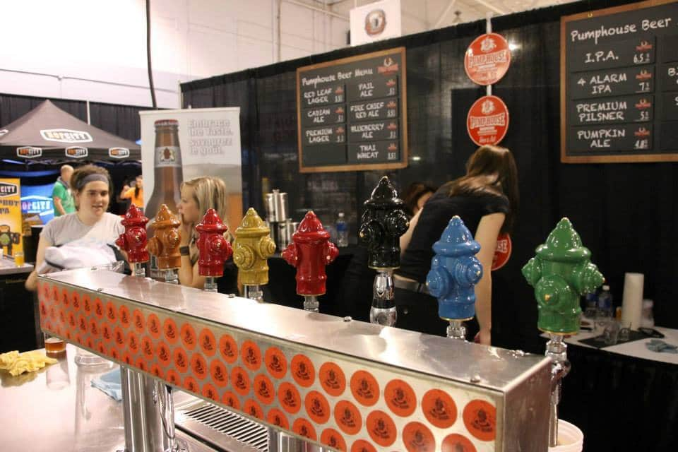 The Atlantic Beer Festival in New Brunswick.